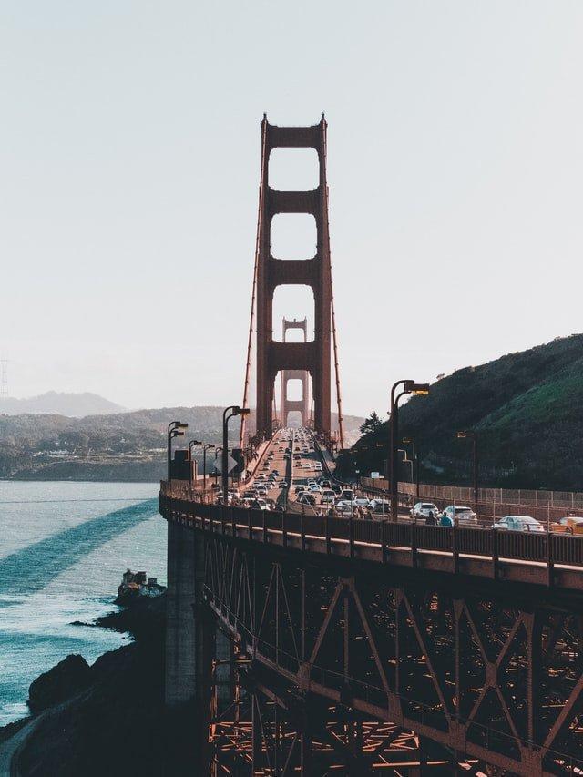SF traffic, San francisco traffic, golden gate