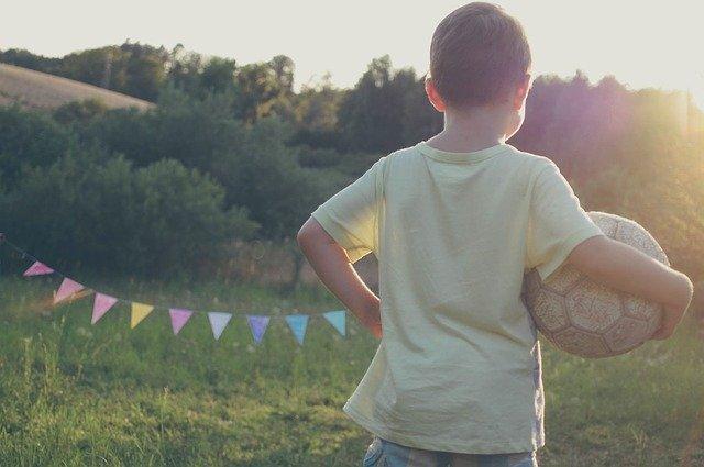 kid playing soccer, kids fitness, children chronic pain