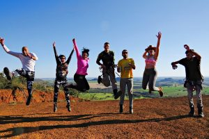 Wellness program for employees, group activities, corporate outing